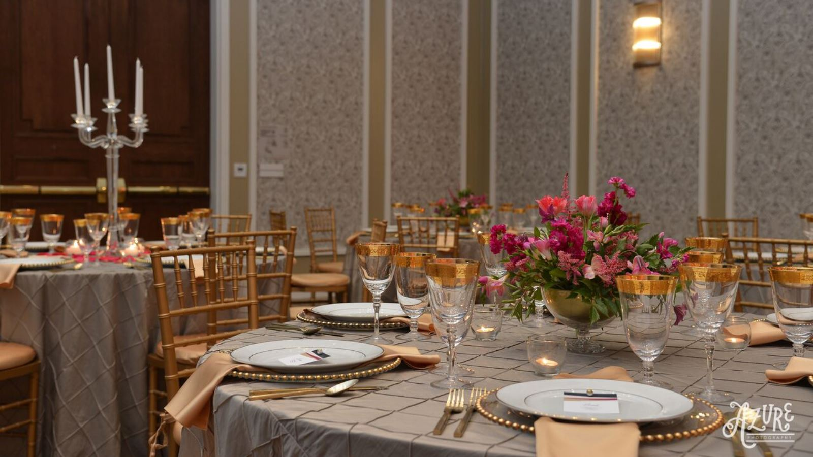 McKinney, TX Wedding Venues - Ballroom Reception